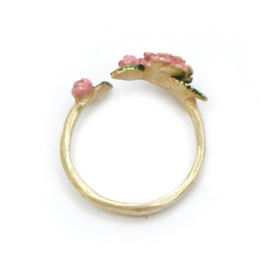 5840e3e89ca8d7 椿 花 指輪 リング 可愛い レディース PalnartPoc 11号 ブランド パル ...