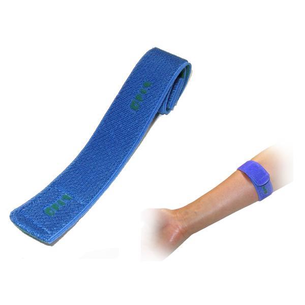 透析患者様用止血ベルト OUTLET SALE 止血バンド 超特価SALE開催 ブルー 1本 25cm