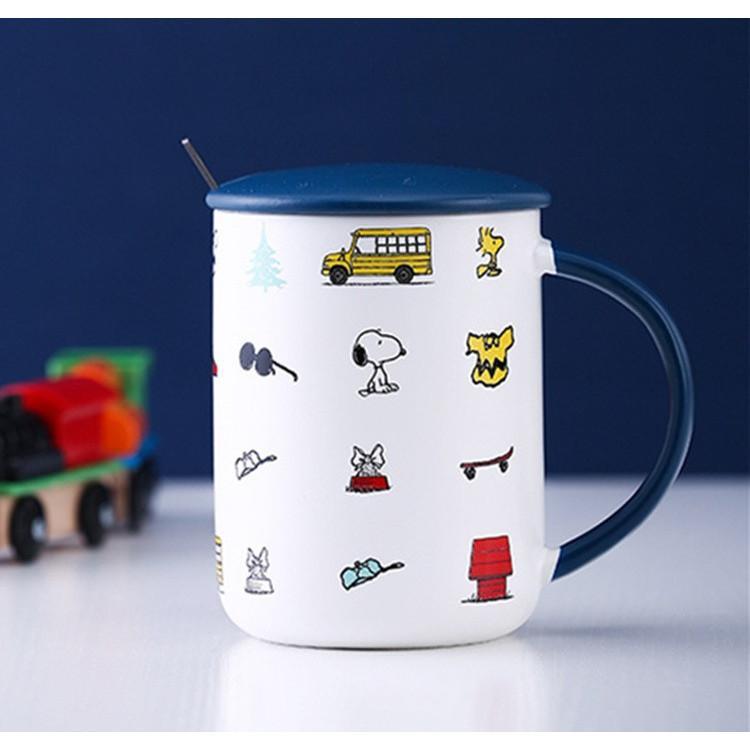 スヌーピー 送料無料激安祭 マグカップ おしゃれ キッズ 蓋付き コーヒーカップ 陶器 食器 かわいい プレゼント コップ 公式