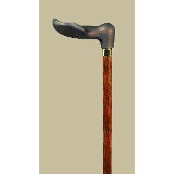 リハビリ1本杖ソフトタッチフィッシャー(右手用)|panastick