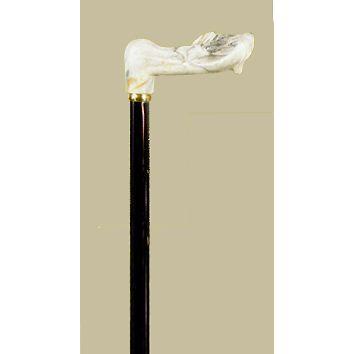 英国製大理石風フィッシャーリハビリ伸縮杖(左手用)|panastick