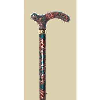 英国製総花柄伸縮杖/ペーズリー|panastick