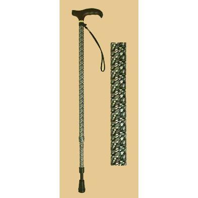 クッション付伸縮杖V06205|panastick
