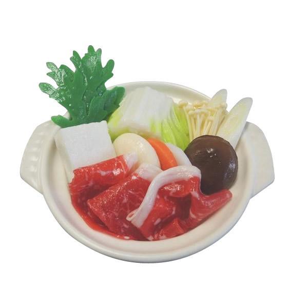 日本職人が作る 食品サンプル 鍋 しゃぶしゃぶ IP-511|b03