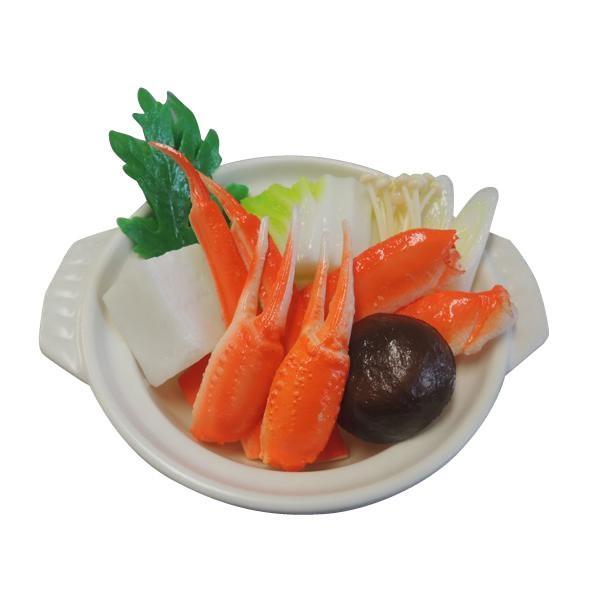 日本職人が作る 食品サンプル 鍋 かにすき IP-512|b03