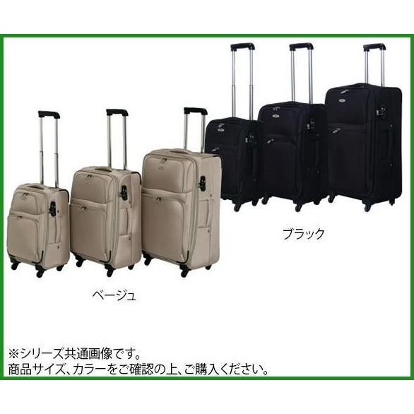 送料無料 スーツケースファクトリー TOMAX ソフトキャリー 中型 CT-052 ベージュ b03