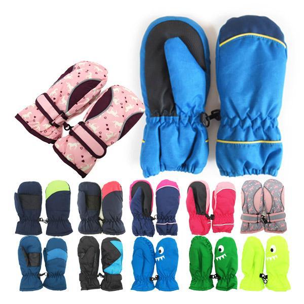 在庫処分 スキーグローブ 手袋 ミトン 子供 キッズ 赤ちゃん 防寒 保温 ハート柄 全16種  雪遊び  男の子 女の子 はめやすい 暖かい |b01|pandafamily