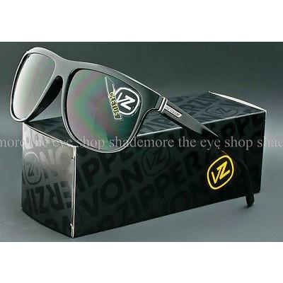 ゴーグル サングラス ボンジッパー VON ZIPPER CLETUS SUNGLASSES Gloss 黒 Frame | Vintage グレー Lens SMRFTCLE-BKV