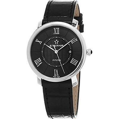 お気に入りの 海外セレクション 腕時計 Eterna レザー 2510.41.45.1251 クラシック Line Artena レディース ブラック 腕時計 クラシック レザー ストラップ スイス 腕時計, 児玉町:663b3fcb --- airmodconsu.dominiotemporario.com