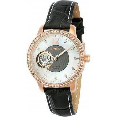配送員設置 インヴィクタ 腕時計 腕時計 Invicta レディース Objet D Art グレー Art レザー オートマチック バンド オートマチック アナログ 腕時計 22623, Mathy Mathy:78117200 --- airmodconsu.dominiotemporario.com