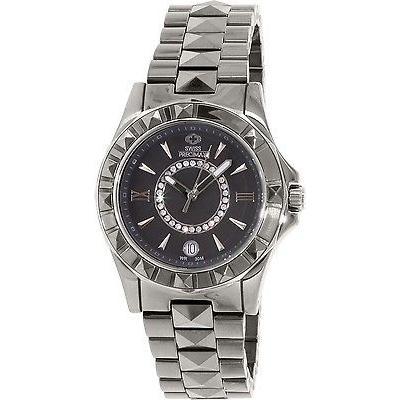 魅力の 腕時計 スイス プレシマックス プレシマックス スイス Fiora Precimax レディース Fiora クォーツ SP13171 グレー ステンレス-スチール スイス クォーツ 腕時計, ヘルメット 専門店 NEO RIDERS:2c9e49e1 --- airmodconsu.dominiotemporario.com
