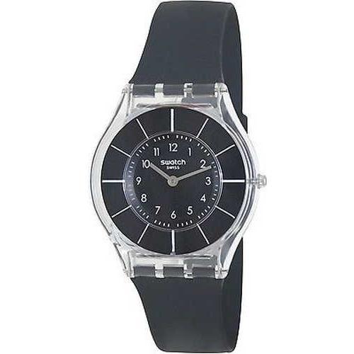 フジオカシ 腕時計 スウォッチ S腕時計 レディース Skin SFK361 ブラック シリコンe スイス クォーツ 腕時計, ヴォイテック中古ピアノ市場 42d3b863