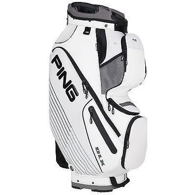 ゴルフ用品ゴルフバッグPing DLX ゴルフ カート バッグ 2015 15-Way Divider Top ホワイト 01