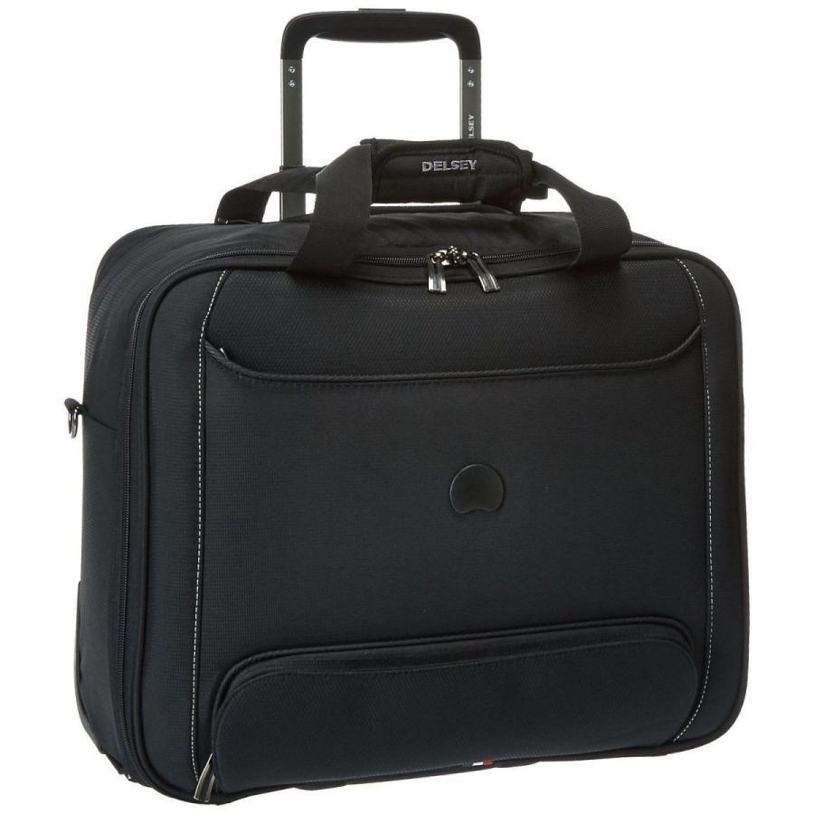ラゲッジ スーツケース デルセー Delsey Chatillon Trolley Tote Black 40229445100