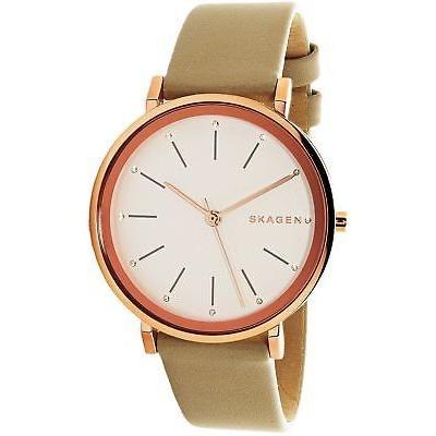 【超特価sale開催】 腕時計 Watch スカーゲン Skagen Women's Leather 腕時計 Hald SKW2489 Rose Gold Leather Quartz Dress Watch, 焼酎芋焼酎 酒鮮市場!:e684610d --- airmodconsu.dominiotemporario.com