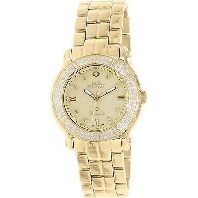 登場! 腕時計 スイス プレシマックス スイス Precimax レディース Tribeca ダイヤモンド SP13329 ゴールド ステンレス-スチール スイス クォーツ, 電材堂 dced275b