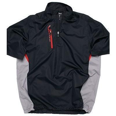 【年中無休】 メンズ Shirt ファッションアスレチック ウェアBobby 半袖 Jones ゴルフ X-H2O High Side 半袖 1/4 Zip ゴルフ Rain Shirt, 厚狭郡:8bf55f1d --- airmodconsu.dominiotemporario.com