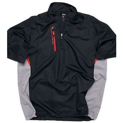 【国内正規品】 メンズ ファッションアスレチック ウェアBobby Jones X-H2O High Side 半袖 1/4 Zip ゴルフ Rain Shirt, ブルックリンバンク c202a264