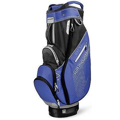 ゴルフ用品ゴルフバッグSun Mountain レディース Sync ゴルフ カート バッグ 2016 レディース チタニウム/Baja/ブラック