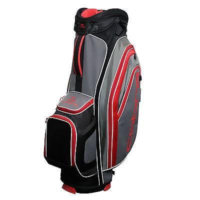 【超安い】 ゴルフ用品ゴルフバッグCobra ゴルフ X Lite カート バッグ ブラック/グレー/Flame Scarlet レッド, イータイムス 04a4d9d0