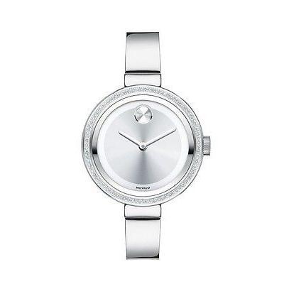 数量限定セール  腕時計 Movado Bold ダイヤモンド ステンレス スチール ダイヤモンド バングル レディース 3600281 腕時計 腕時計 3600281, naval-:b1cb9352 --- airmodconsu.dominiotemporario.com