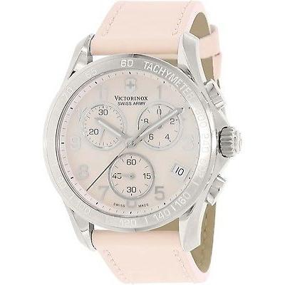 【一部予約販売】 腕時計 ヴィクトリノックススイスアーミー Victorinox スイス Army レディース 241419 ピンク レザー スイス クォーツ 腕時計, ハーブ&サプリ工房 bb65a3b8