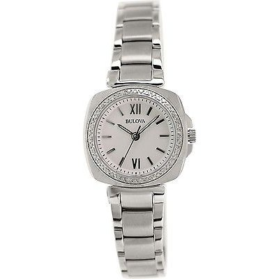 適切な価格 腕時計 ダイヤモンド 腕時計 ブローバ Bulova レディース ダイヤモンド 96R200 96R200 シルバー ステンレス-スチール クォーツ 腕時計, ハビーズ:2dc23645 --- chizeng.com