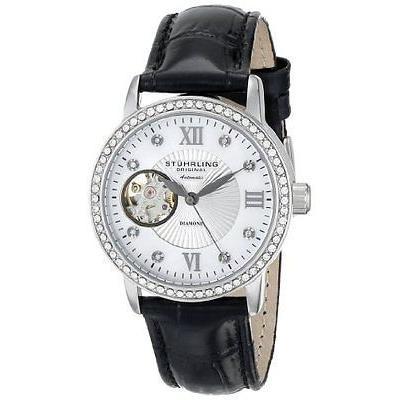 【限定品】 ストゥーリングオリジナル 腕時計 Stuhrling 710 01 Vogue レディース Memoire アナログ ディスプレイ オートマチック 腕時計, 新宿 銀の蔵 25e365d8