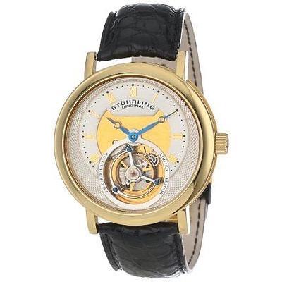 生まれのブランドで ストゥーリングオリジナル 腕時計 333X2 Stuhrling メンズ 502 333X2 Tourbillon メンズ 腕時計 Circular リミテッド エディション Mechanical 腕時計, サイバーボックス:3742d1f7 --- airmodconsu.dominiotemporario.com
