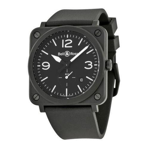 最上の品質な 腕時計 ベルアンドロス Bell and 腕時計 Ross Ross Aviation ブラック ダイヤル ブラック Matt ブラック セラミック メンズ 腕時計 BLRBRS-BL-CEM, はせがわオンラインショップ:14cef5d7 --- airmodconsu.dominiotemporario.com