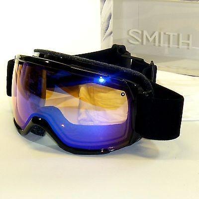ゴーグル サングラス スミス Smith Showcase OTG Goggles-黒 Lux/青 Sensor Mirror-Eyeglass Compatible