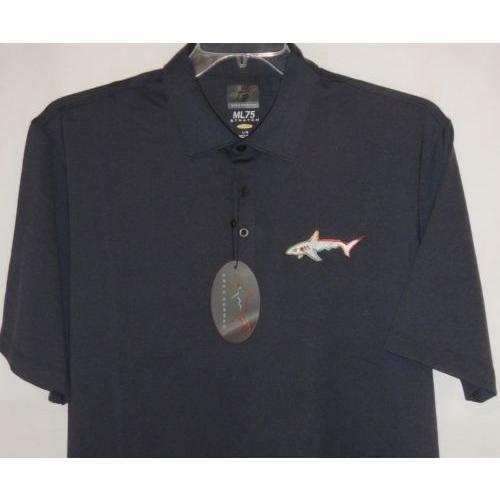 限定価格セール! シャツ トップス セーター グレッグノーマン Greg Norman Tour Shark ML75 play dry ストレッチ heatheレッド s/s polo XL(ネイビーHeather), Twice 71d1a8f0
