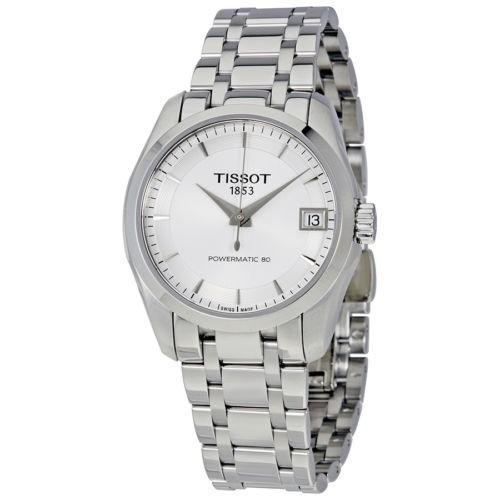 【中古】 腕時計 ティソット Tissot Couturier Powermatic 80 オートマチック レディース 腕時計 T035.207.11.031.00, MARUKUMA 4e6707bc