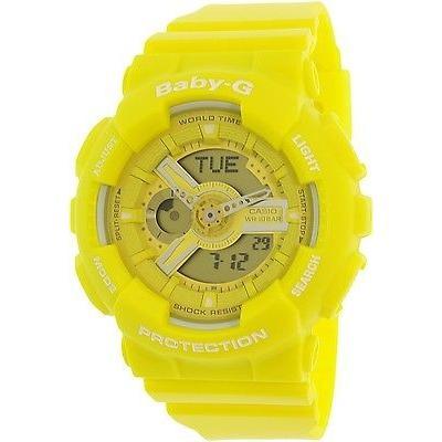 【レビューで送料無料】 腕時計 カシオ Casio レジン レディース ベビー-G BA110BC-9A ベビー-G イエロー レジン クォーツ イエロー 腕時計, trendyimpact:fc660061 --- airmodconsu.dominiotemporario.com