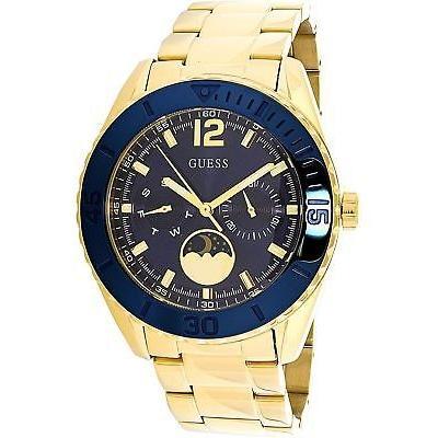 2019新作モデル 腕時計 ゲス Guess Women's U0565L4 Gold Stainless-Steel Japanese Quartz Fashion Watch, スマイルバンド 41b80d72