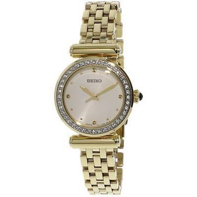 【高知インター店】 腕時計 Stainless-Steel セイコー Seiko 腕時計 Women's SRZ468 Quartz Gold Stainless-Steel Japanese Quartz Fashion Watch, オリジナルショップ三幸:fb6d4942 --- airmodconsu.dominiotemporario.com
