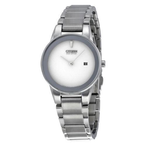 柔らかい 腕時計 ウォッチ シチズン Citizen Axiom シルバー ダイヤル ステンレス スチール クォーツ レディース 腕時計 GA1050-51A, ZIPスポーツ d0df6b9b