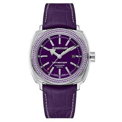 2019春大特価セール! 腕時計 ジャンリシャール JeanRichard Terrascope レディース オートマチック 腕時計 60500A11AD01-BDD0, シマムセン 51aaefe1