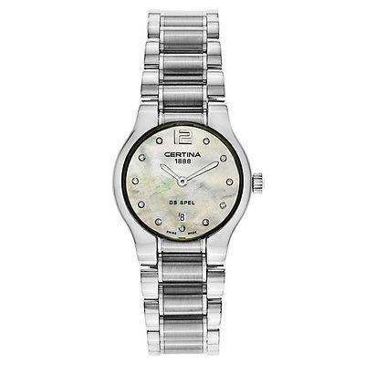 買得 腕時計 サーチナ CERTINA DS Spel レディース クォーツ 腕時計 C012-209-11-116-00, 南郷村 e5f15759