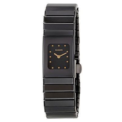 特別セーフ 腕時計 ラドー Rado セラミックa レディース クォーツ 腕時計 R21540162, The Black Market af506e37