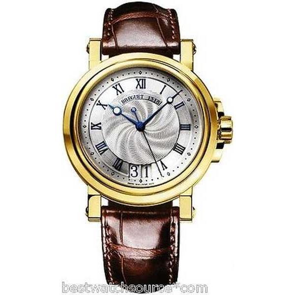 即日発送 腕時計 ブレゲ BREGUET Marine オートマチック Big デート 18kt YG B&P 5817ba/12/9v8 Ret: $21,300, セレクトショップ GoodyOnline 022aa0ff