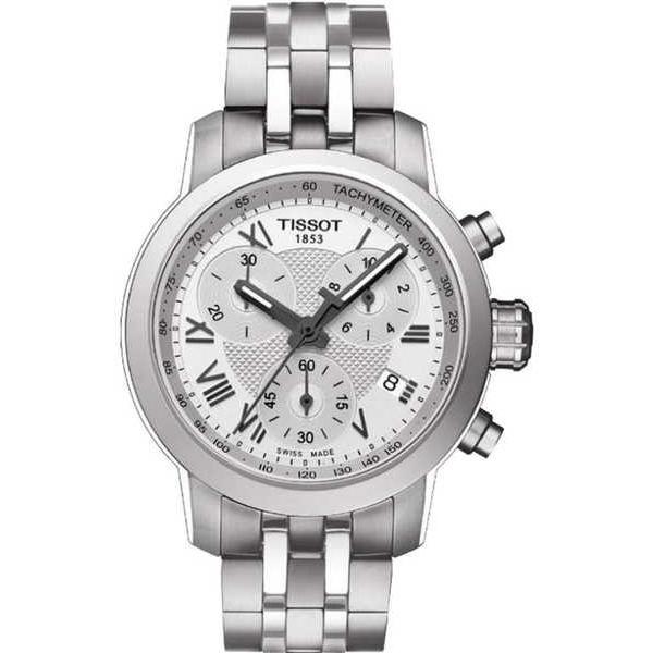 【正規品直輸入】 腕時計 ティソット Tissot PRC 200 クロノグラフ レディース 腕時計 T0552171103300, イカグン 41563a22