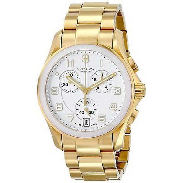 日本最大のブランド 腕時計 スイスアーミー Swiss Army Victorinox クロノグラフ クラシック クロノグラフ レディース 腕時計 241537, 石雑貨ピュアストーン f12381cf