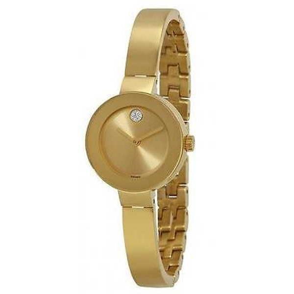 素晴らしい品質 腕時計 モバード Movado Bold ゴールドトーン レディース 腕時計 3600285, 畳カーペットの店アズマ 2a68b114
