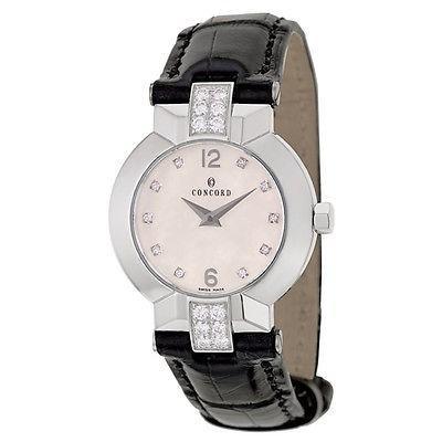 魅力的な 腕時計 コンコルド Concord La Scala レディース クォーツ 腕時計 0311056, 四季物屋 412d8c29