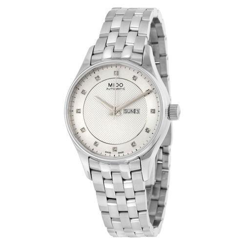 海外並行輸入正規品 腕時計 Belluna M0012301103691 ミドー Mido Belluna オートマチック 腕時計 シルバー ダイヤル ステンレス スチール レディース 腕時計 M0012301103691, キタムラ:32c52d83 --- airmodconsu.dominiotemporario.com