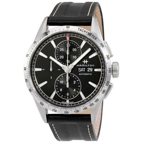 大人気新作 腕時計 ハミルトン Hamilton 腕時計 Broadway Auto Hamilton クロノグラフ グレー ダイヤル ダイヤル レザー メンズ 腕時計 H43516731, 愛南マルシェ おさかなみかん:8ce429b4 --- airmodconsu.dominiotemporario.com
