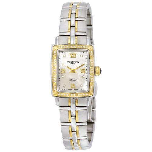 大流行中! 腕時計 レイモンドウイル Raymond Weil Parsifal Mother of パール Two トーン レディース 腕時計 9740-STS-00995, ドリームアイランド 65c0ae9b