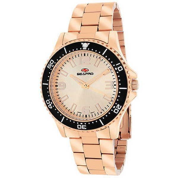 【お得】 腕時計 シープロ Seapro レディース SP5414 'Tideway' ローズトーン ステンレス スチール 腕時計, カンフリエ 4e2ceb0d