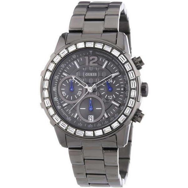 買い誠実 腕時計 ゲス GUESS レディース W0016L3 B グレー 腕時計 ステンレス 腕時計 スチール クロノグラフ レディース 腕時計 W0016L3, おちゃのこさいさい:e808f27d --- airmodconsu.dominiotemporario.com